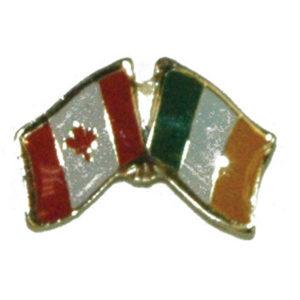 Flag Friendship Lapel Pin