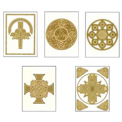 Assorted Celtic Knot Note Cards 10pk