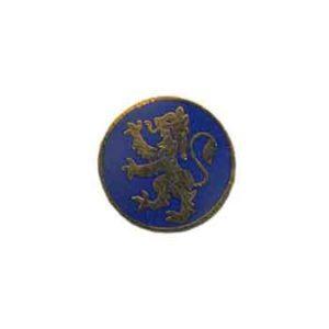 Blue Scottish Lion Pin