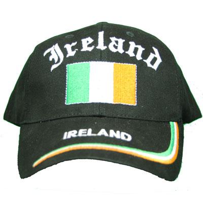 Ireland Black Ball Cap