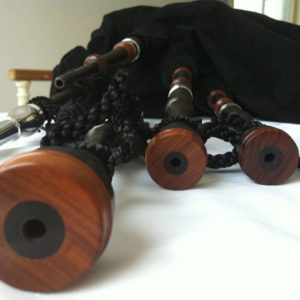 McCallum Blackwood Folk Pipes with Mopani & Alloy