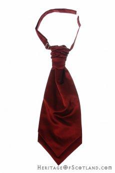 Ruchie Tie Burgundy