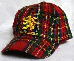 Stewart Tartan Lion Ball Cap