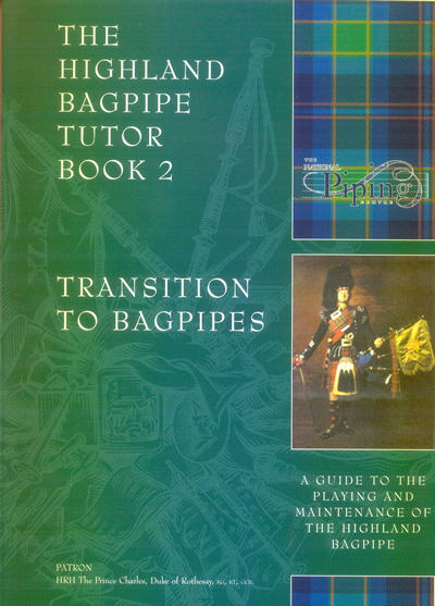 National Piping Centre Highland Bagpipe Tutor Book 2