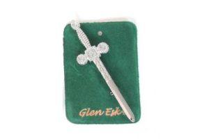 Celtic Kilt Pin Chrome