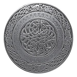 Circular Celtic Knot Belt Buckle