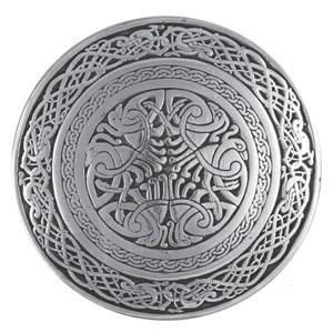 Circular Celtic Bird Belt Buckle