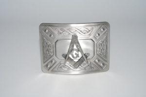 Masonic Celtic Dress Buckle Antique