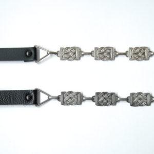 Fancy Chain Strap Nickel