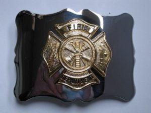 Firefighter Gilt Buckle