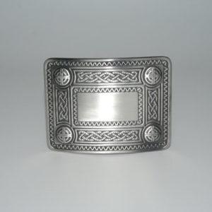 Celtic Knot Buckle Antique
