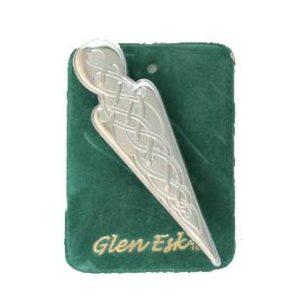 Celtic Knot Kilt Pin Chrome