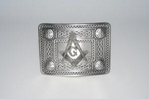 Masonic Celtic Knot Buckle Antique