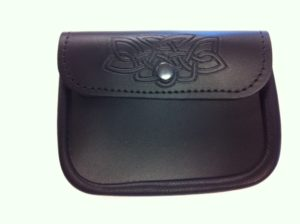 Large Embossed Sporran Pouch