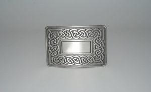 Celtic Link Buckle Antique