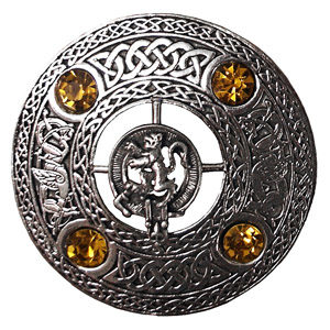 Brooch Clan 4 Stone