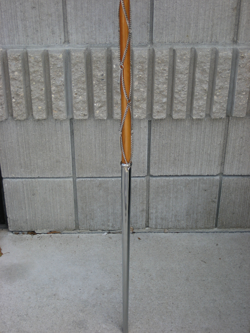 Cane Mace with Chains