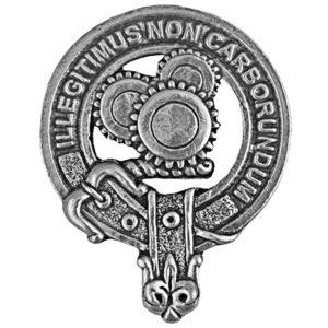 Machine Cap Badge
