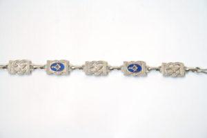 Masonic Fancy Chain Strap Chrome