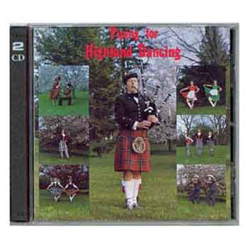 Piping for Highland Dance by Jim Scott
