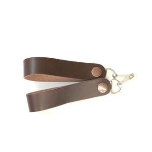 Sporran Suspenders Plain Brown
