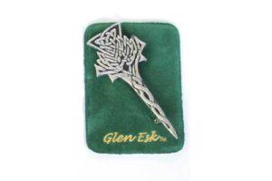Highland Thistle Kilt Pin Chrome