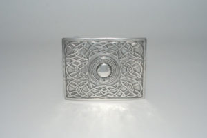 Pewter Torque Buckle Polished