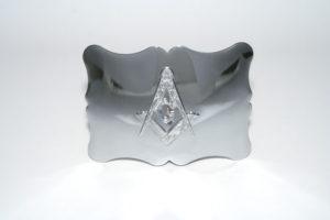 Traditional Masonic Buckle Chrome