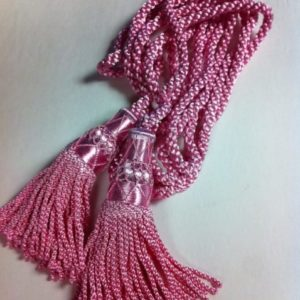 Silk Drone Cords Pink