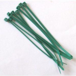 Zip Ties Green