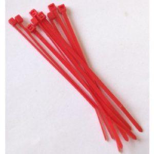 Zip Ties Red