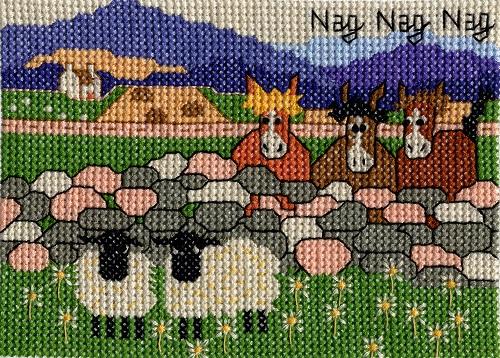 Cross Stitch Kit Nag, Nag, Nag