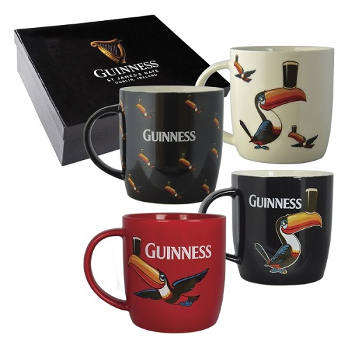 GUINNESS®  Mugs Toucan Collection