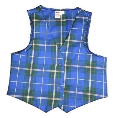 Tartan Child Vest