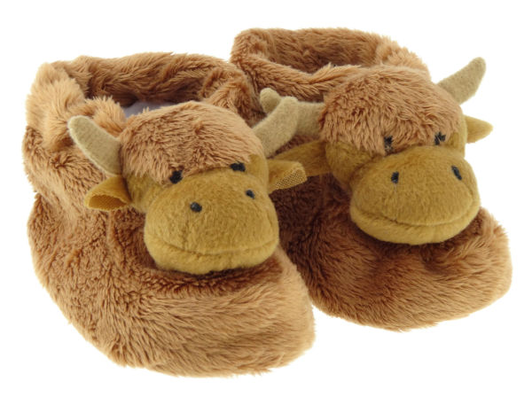Highland Cow Bootees