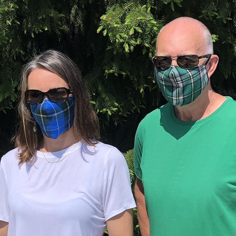 Tartan Face Masks