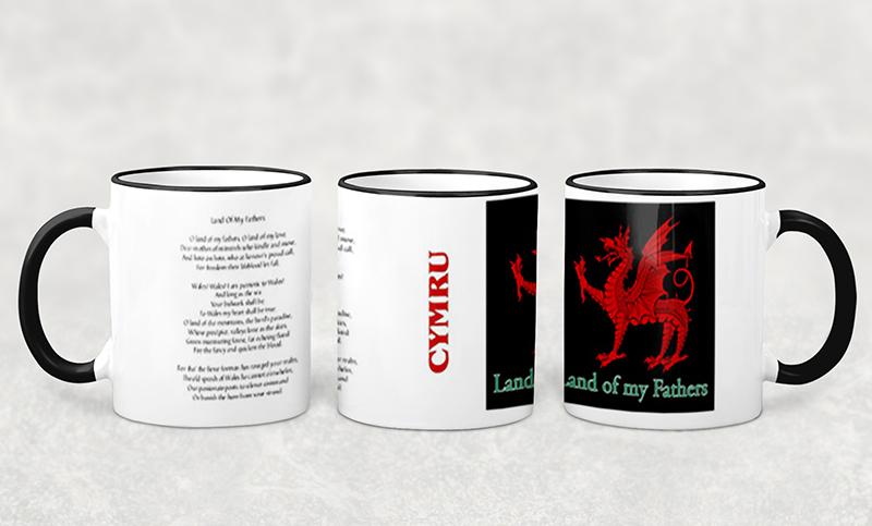 Mug Welsh CMYRU