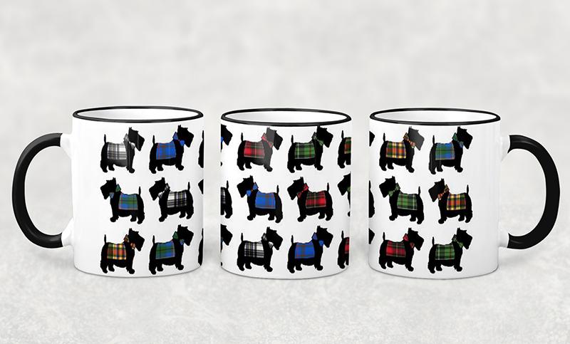 Mug Scotty Dog