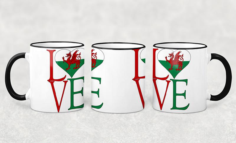 Mug I Love Wales