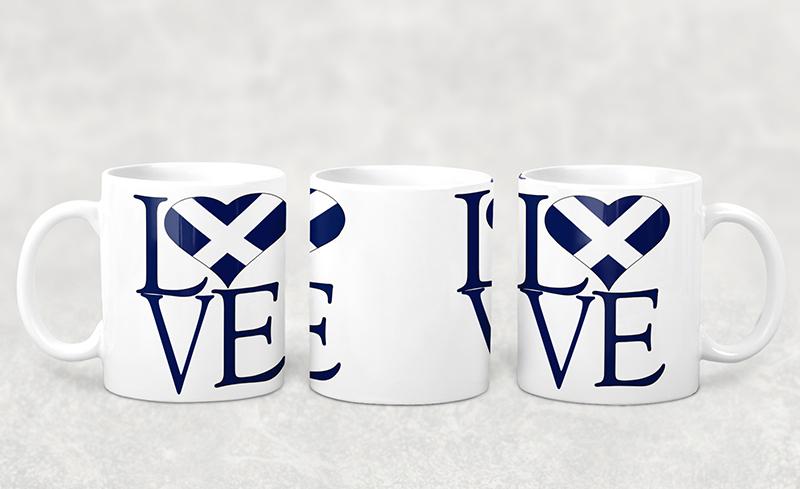 Mug I Love Scotland