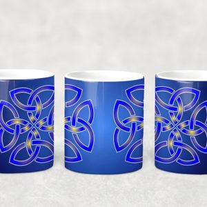 Mug Blue Celtic Knot