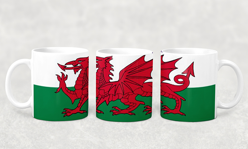 Mug Welsh Flag