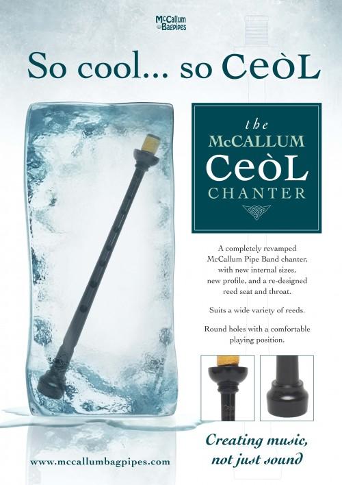 McCallum Ceol Blackwood Pipe Chanter