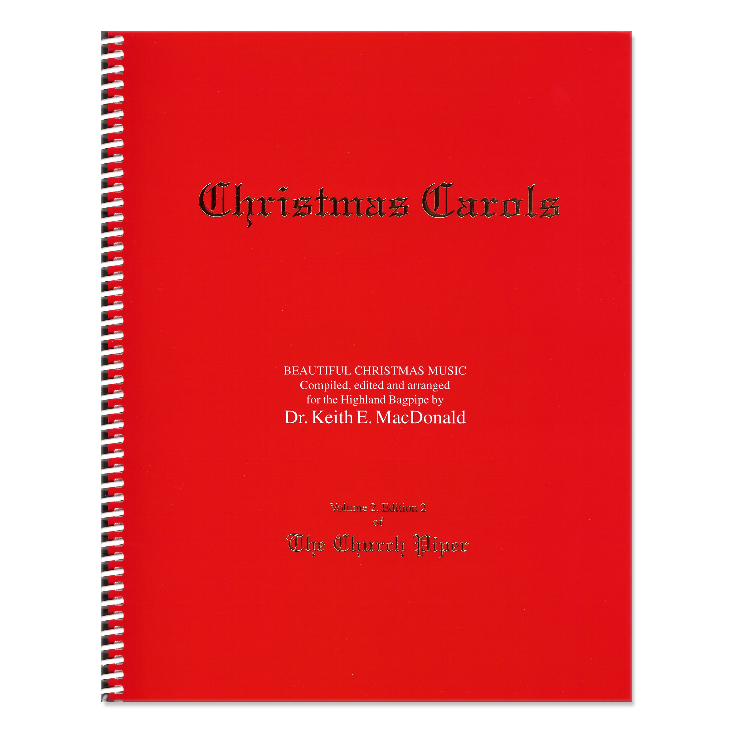 The Church Piper Book  Book 2  Christmas Carols