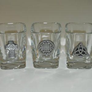 Shot Glass Celtic Knot