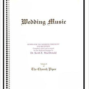 The Church Piper Book  Book 6 Wedding Music